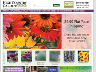 High Country Gardens Plant Palette